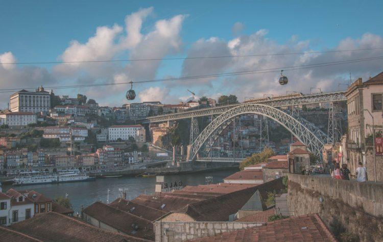 pont de luis porto portugalsko
