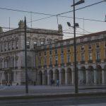 Praça do Comércio v lisabone