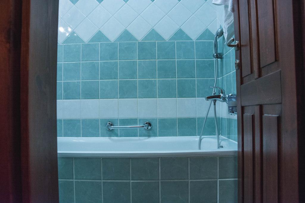 kúpeľňa v hoteli u leva levoča