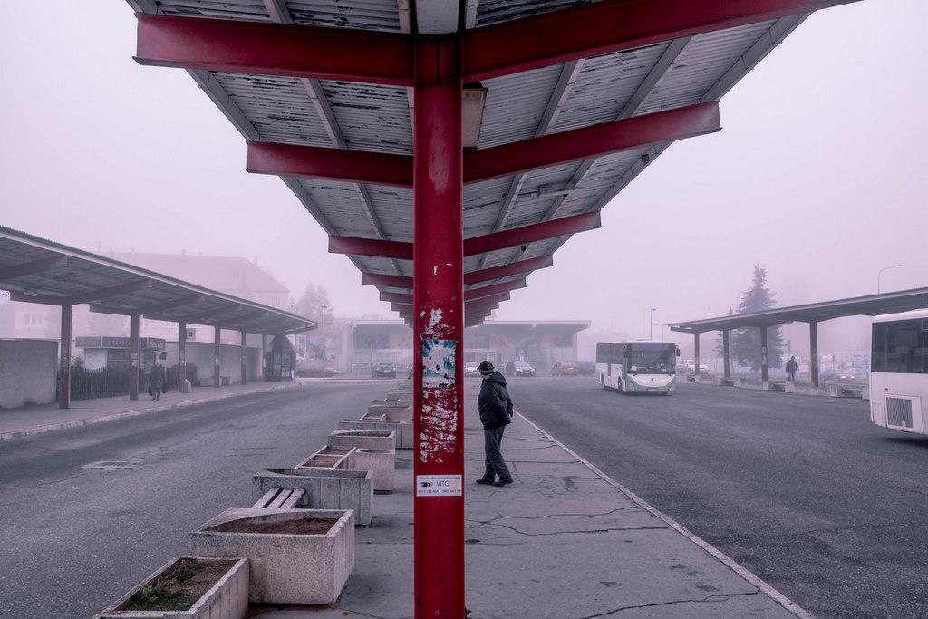 autobusová stanica v levoči