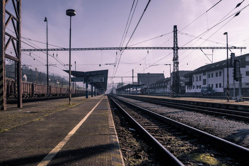 železničná stanica čadca 4