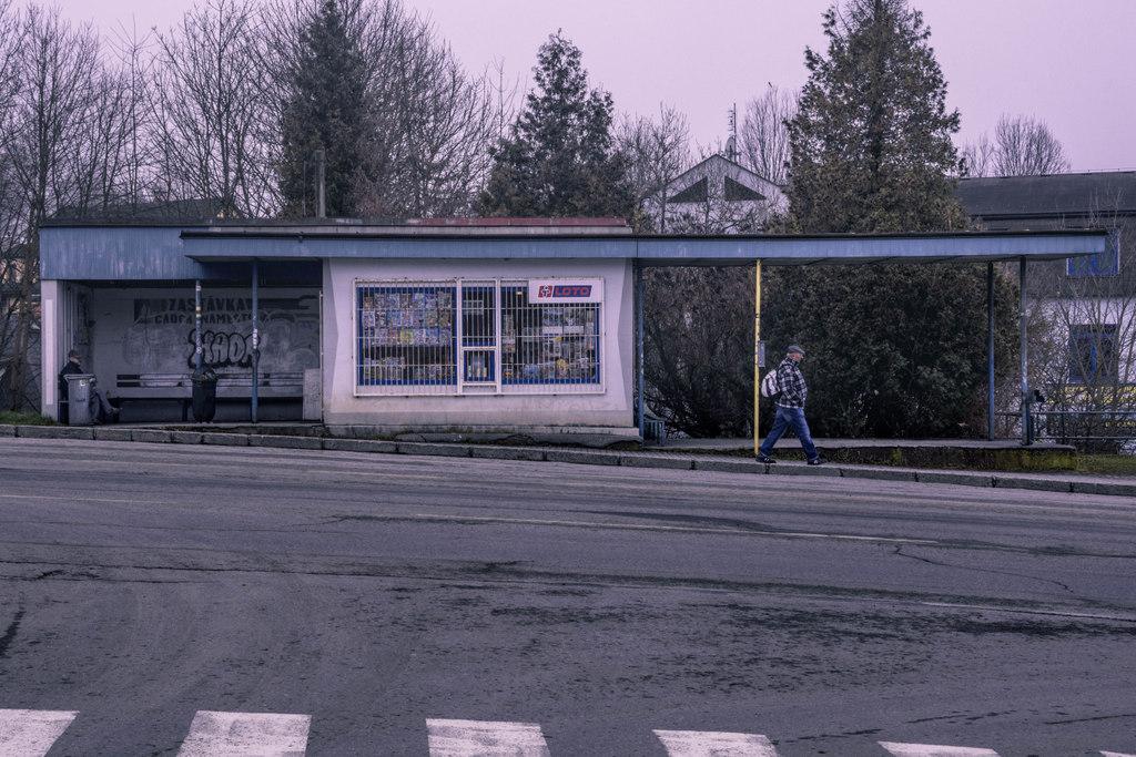 autobusová zastávka čadca