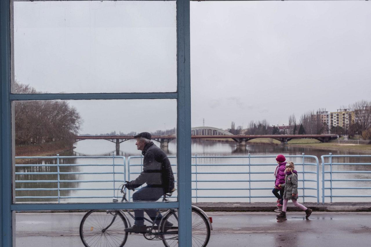 Kolonádový most v Piešťanoch Erik Beluš