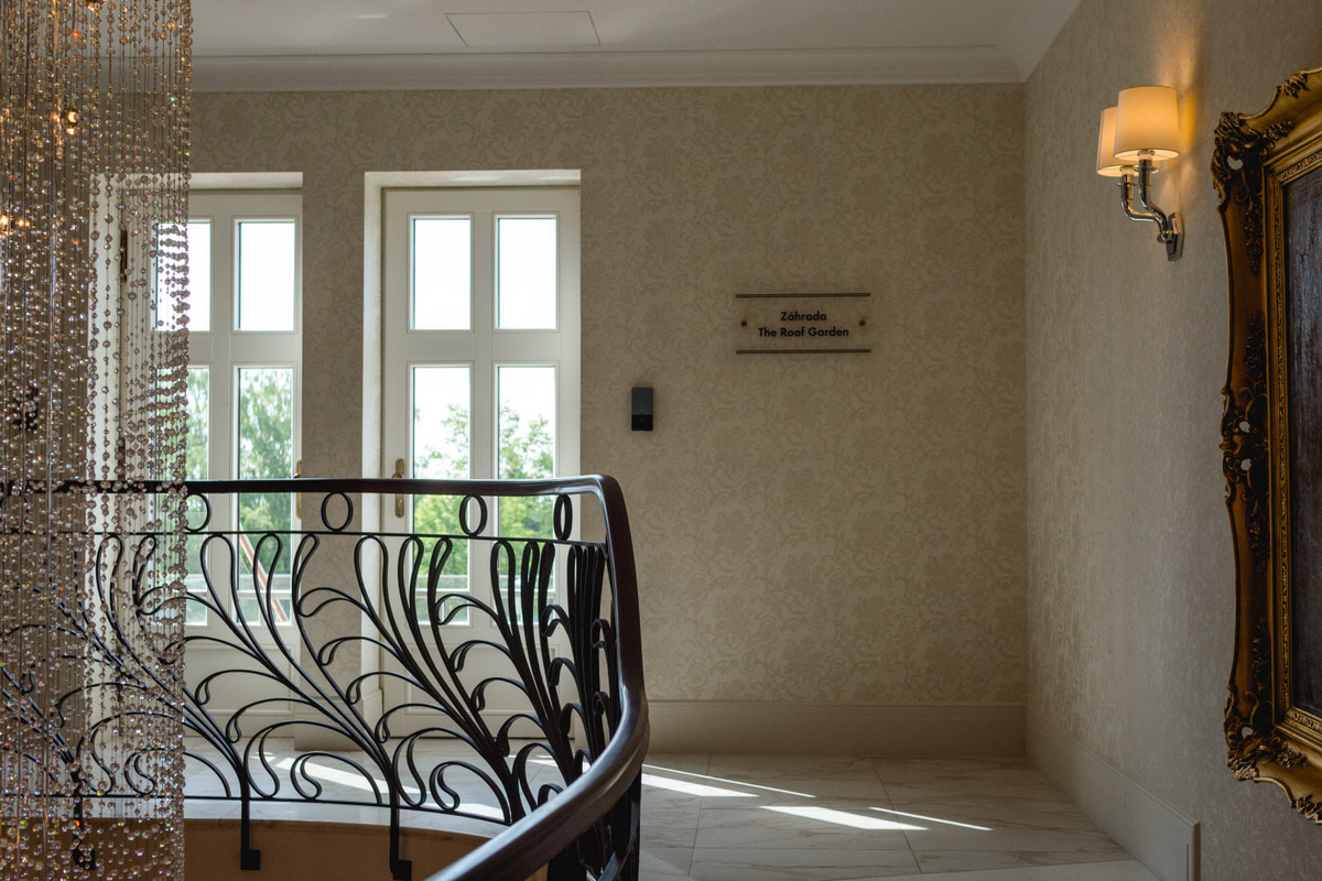 hotel lomnica interiér